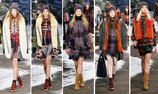 Tommy Hilfiger Fall/Winter 2014-15 New York Fashion Week