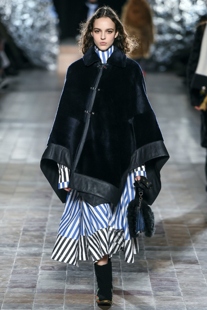 Меховая мода от Sonia Rykiel FALL 2017 READY-TO-WEAR