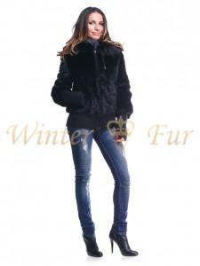 Черная куртка Арт 1407