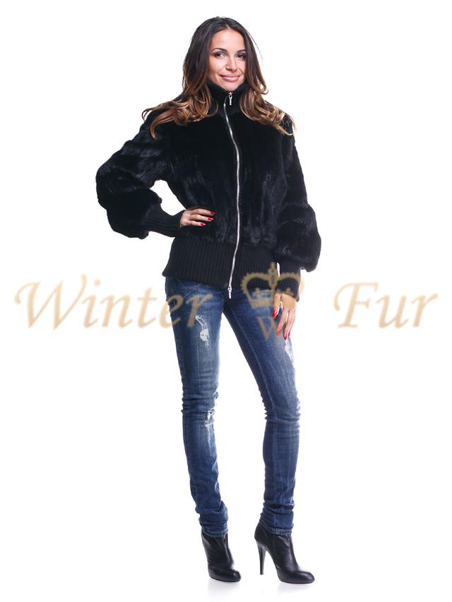 Меховая куртка OneColor Арт 226