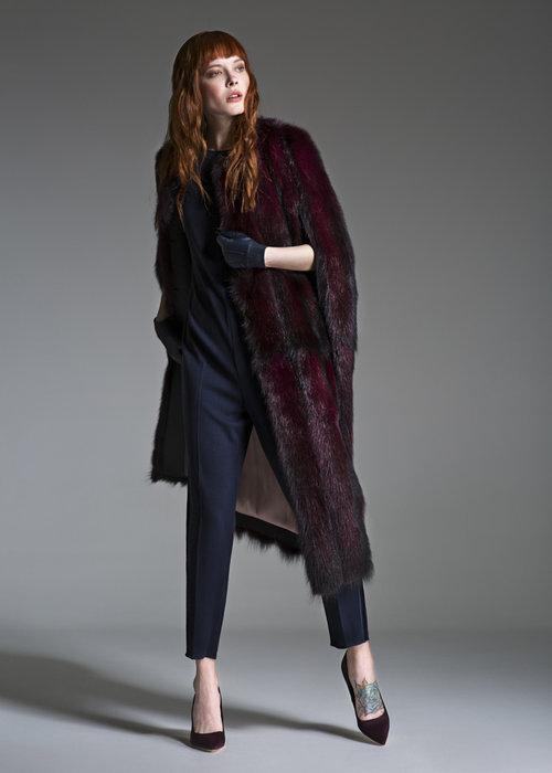 Норковое пальто от Efremov из меха NAFA
