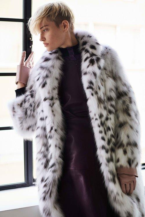 Хорошая шуба стоит дорого. Шуба от Nevris Fur из рыси из меха NAFA.