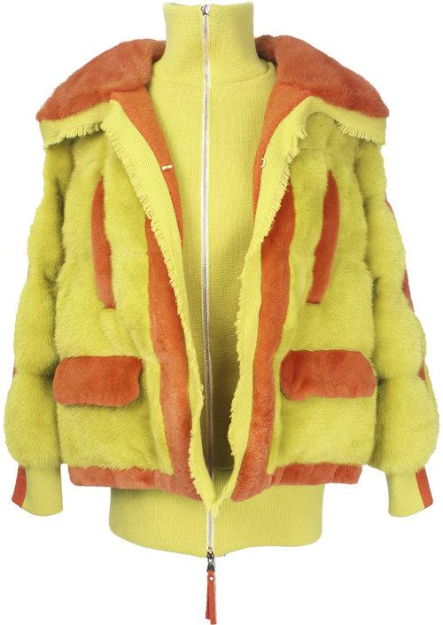 Куртка от T.I.P. Furs из меха NAFA