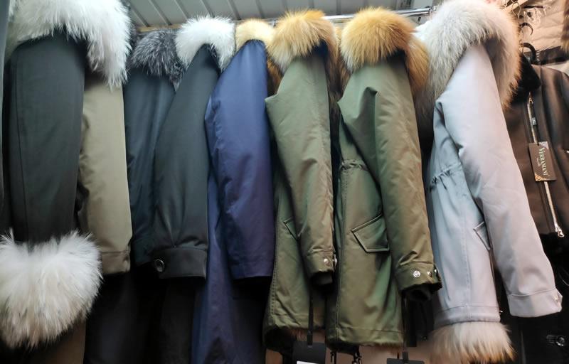 Зимние женские куртки-парки. Как выбрать куртку? На фото парки на меховой выставке-ярмарке на ВДНГ павильон №1