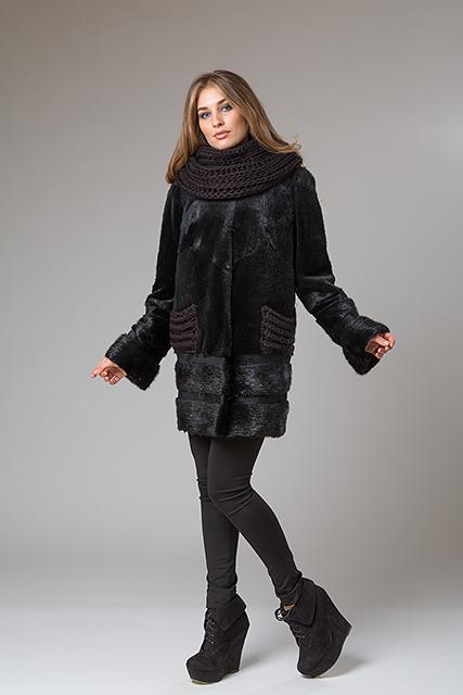 Меховой пальто от Miss Lora(Мисс Лора)