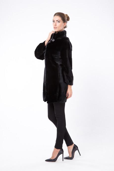 Черное итальянское пальто