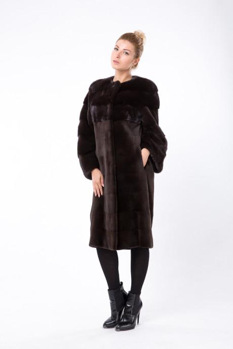Итальянское норковое пальто цвета Scanglow