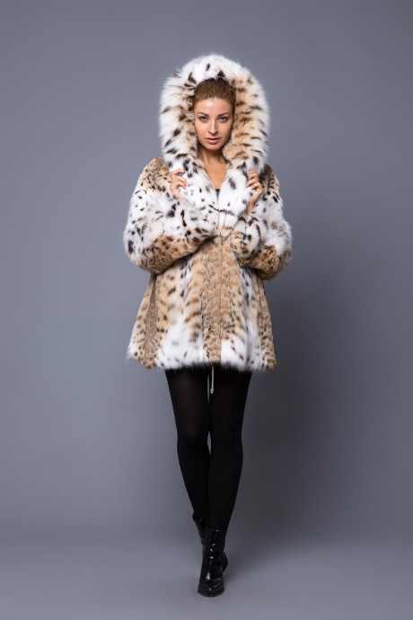 Пальто из меха соболя натурального цвета (Греция)