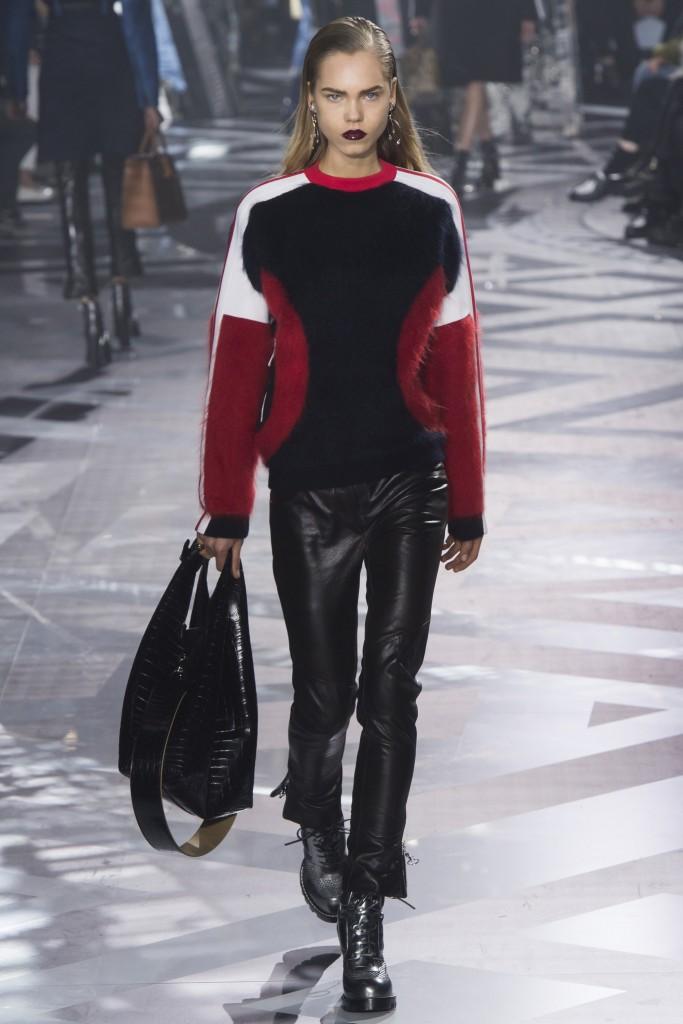 Шубы и меха осени 2016 от Louis Vuitton