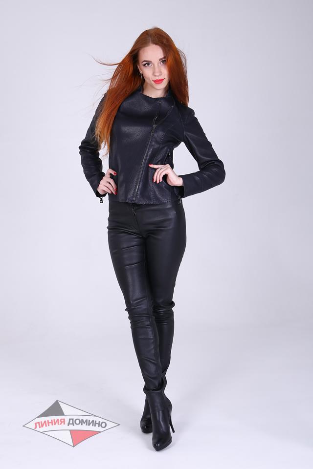 Модная легкая куртка без подкладки из матовой кожи черного и кофейного цвета