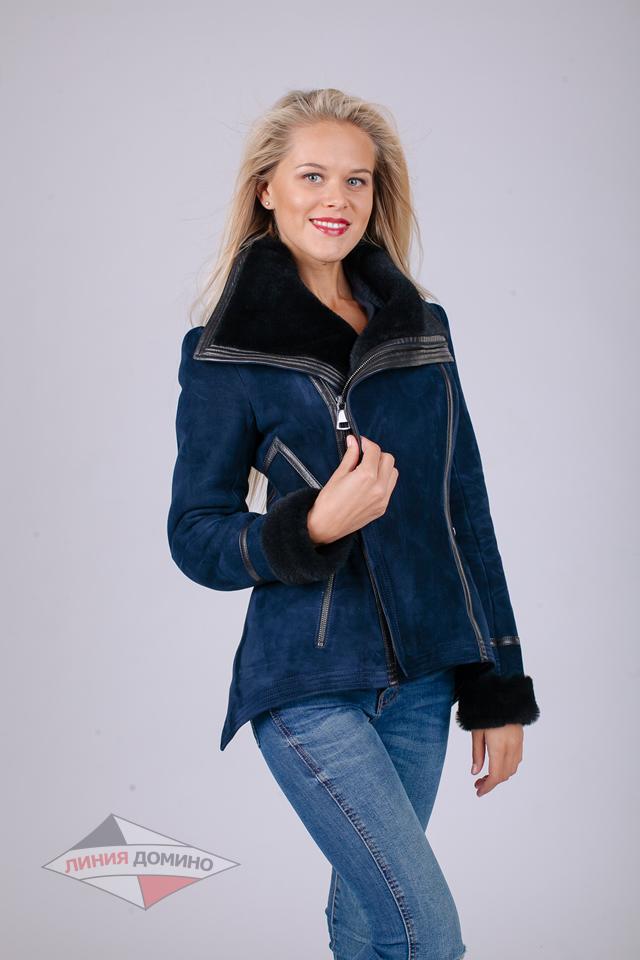 Короткая курточка - дубленка Армани