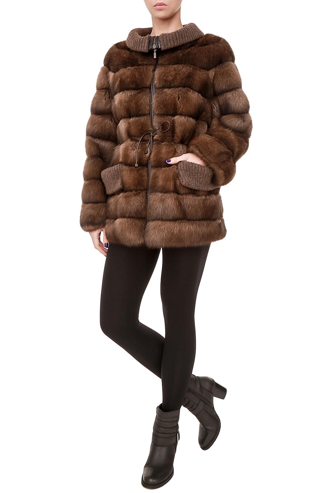 Итальянская куртка из меха соболя Gavazzi Furs