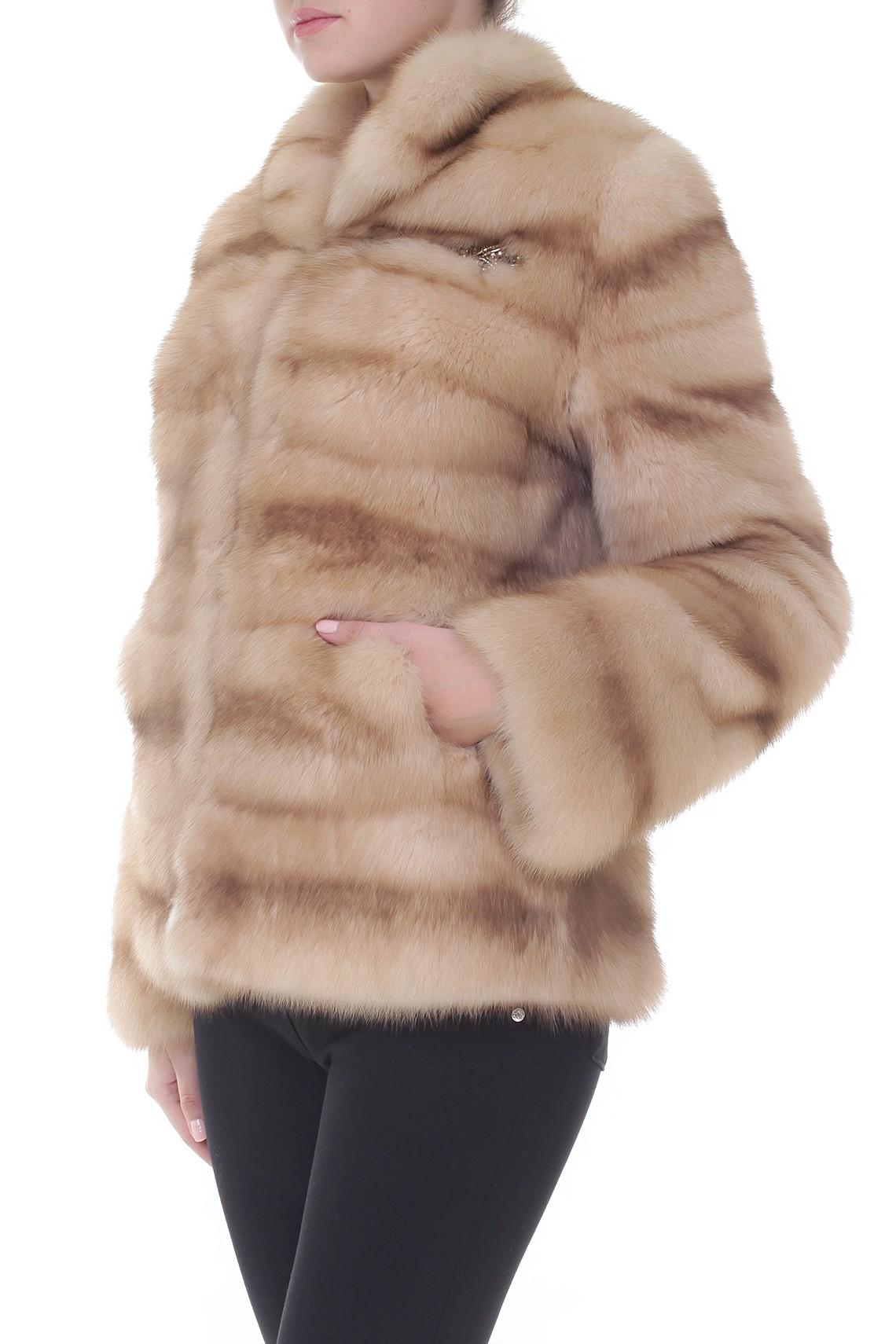 Итальянское меховое пальто Anna Maria Leporatti