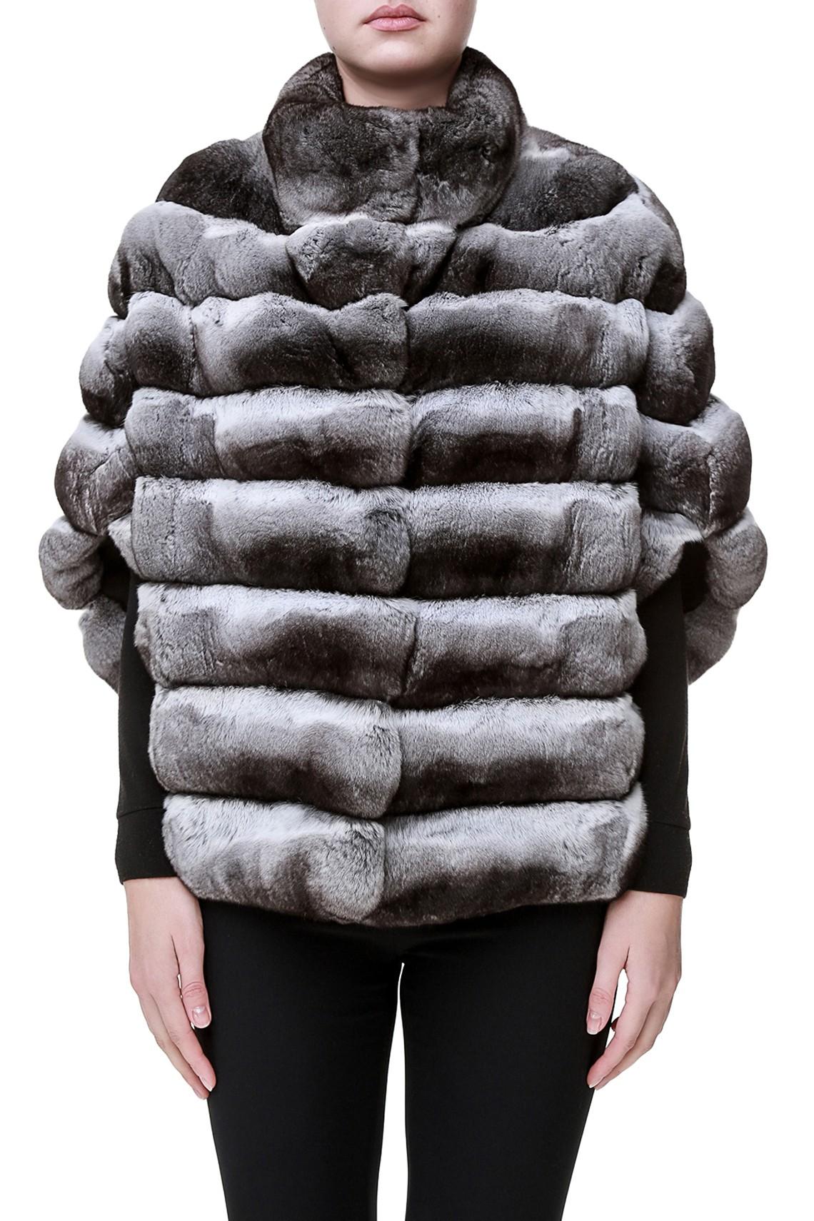 Шиншилловое пальто Mantella от Fabrizio Ferrario Furs
