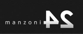 Логотип мехового бутика Манцони24