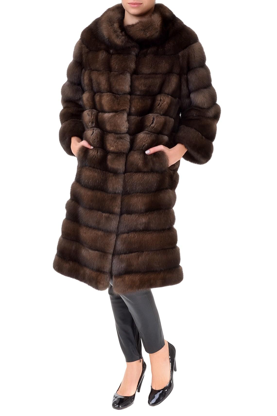 Длинная соболиная шуба Gavazzi Furs