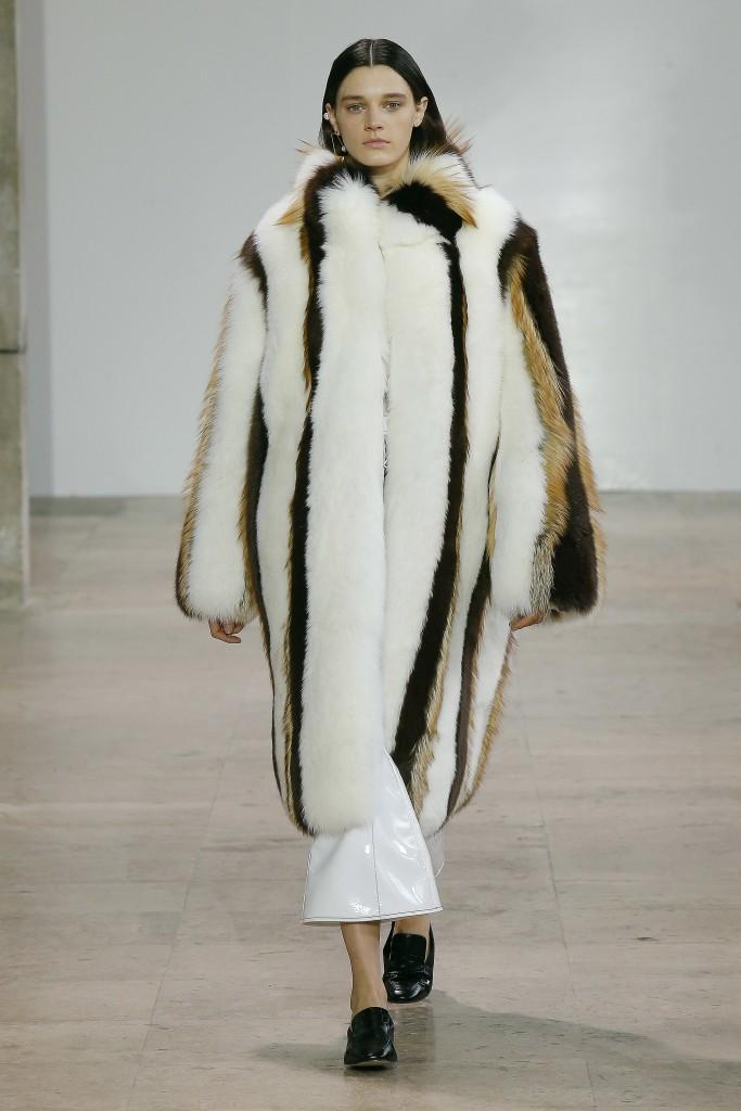 Меховая мода от Ellery 2017 READY-TO-WEAR
