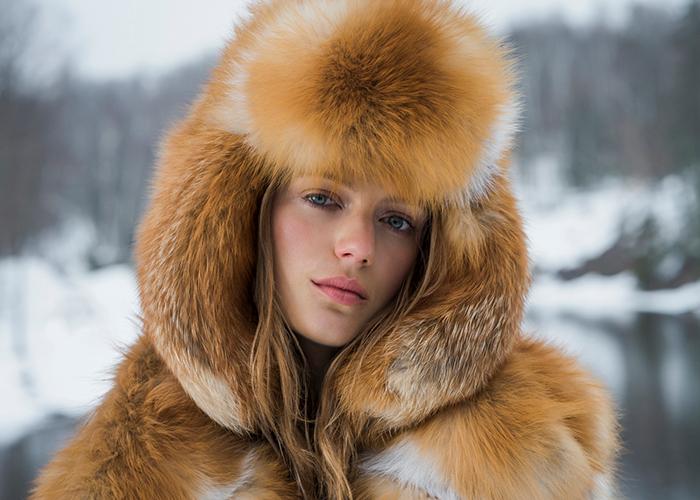 NAFA Northern |Шуба лиса – Argiriou Furs