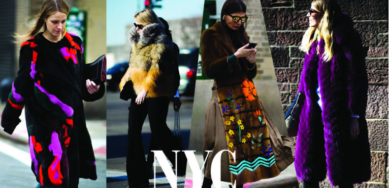 Шубы в Нью Йорке 2017-2018