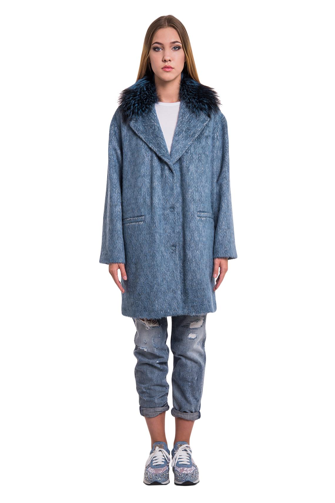 Пальто кашемир/silver fox арт. 17M073. Фото 1