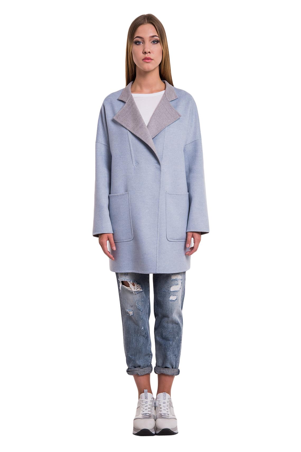 Женское пальто из кашемира Manzoni24 арт. 16M890b. Фото 1