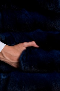 Шуба Fabrizio Ferrario Furs шиншилла blue арт. 16. Фото 4