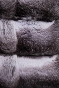 Шуба Fabrizio Ferrario Furs шиншилла MARINA. Фото 5