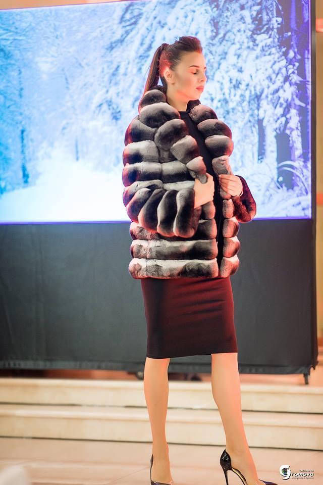 Шиншилловая шуба от Winter Fur