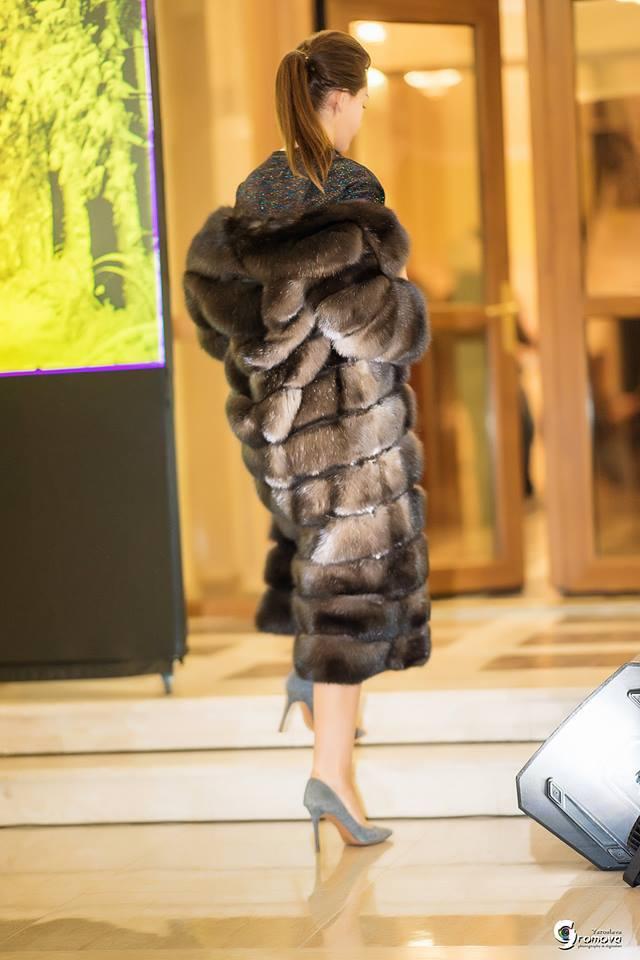 Соболиная шуба от Winter Fur