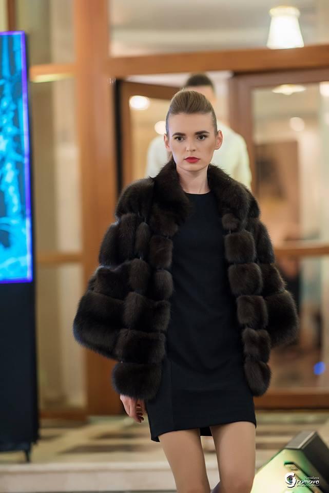 Полушубок из соболя от Winter Fur