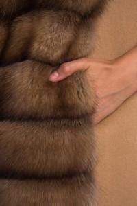 Жилет Antonio Didone кашемир / соболь Арт 20090-2.1. Фото 4