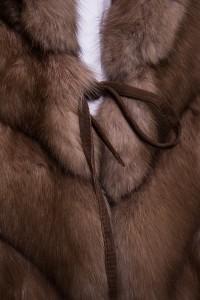 Жилет Antonio Didone соболь №36. Фото 4