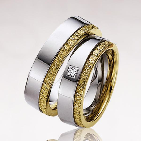Обручальное кольцо 015
