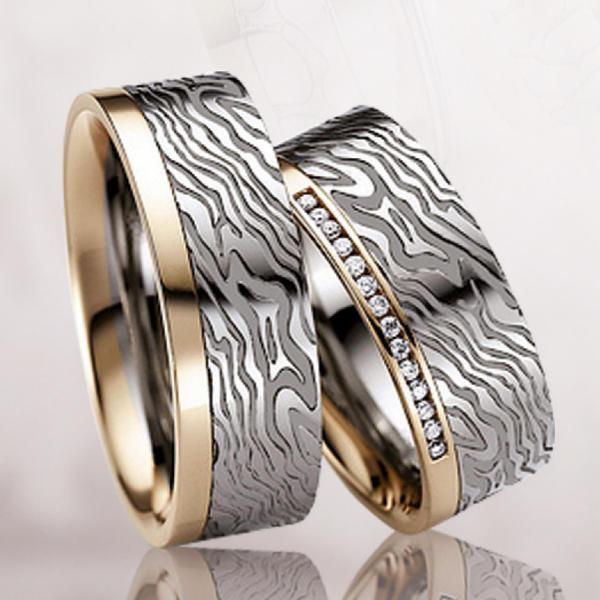 Обручальное кольцо 032