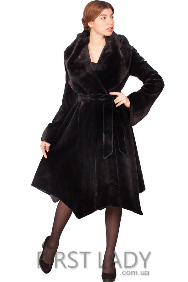 Норковая шуба-пальто №982