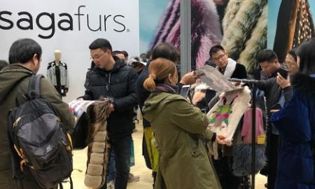 Инновации и устойчивое развитие Saga Furs в центре внимания на меховой выставке 2018 в Пекине