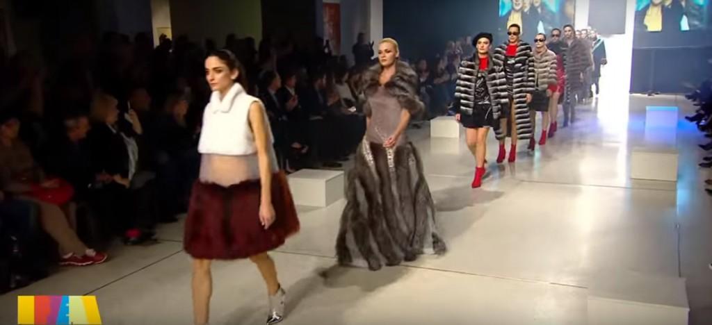 Меховое Гала шоу Fur Excellence 2018 в Афинах. Видео