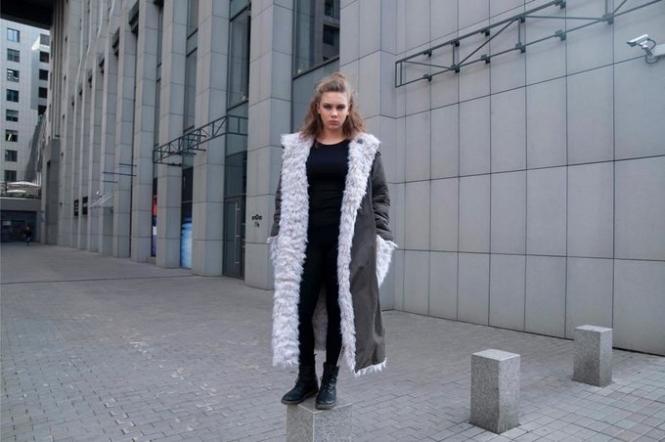 Шубы из конопли - новинка от украинского бренда. Фото Devohome