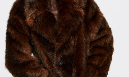 Шуба Zara из искусственного меха стоит всего 60 евро