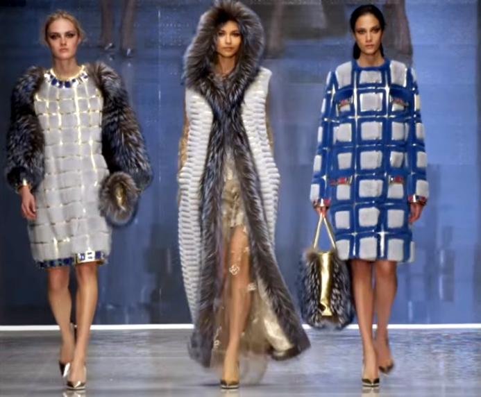 Эксклюзивные меховые жилеты и пальто от итальянских модельеров