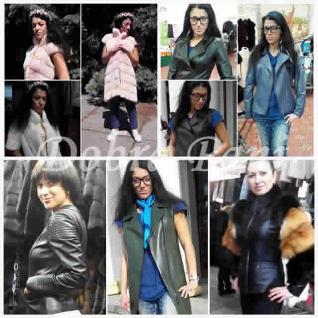 Кожаные женские куртки в Киеве