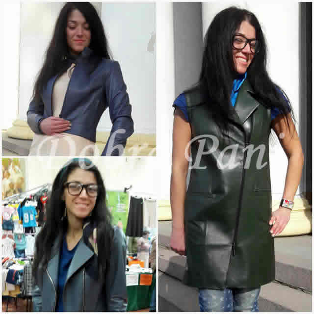 Распродажа кожаных женских курток
