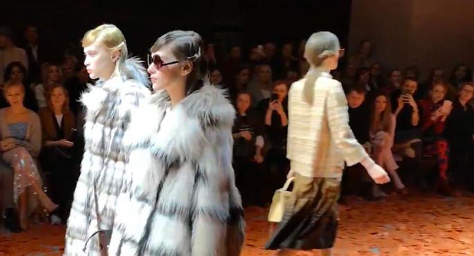 Видео июньских торгов Saga Furs от популярного дизайнера Алены Ахмадуллиной