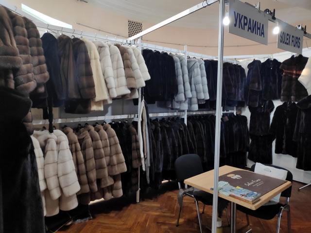 Дорогие шубы из соболя, скандинавской и северо-американской норки на выставке-ярмарке в Киеве на ВДНХ