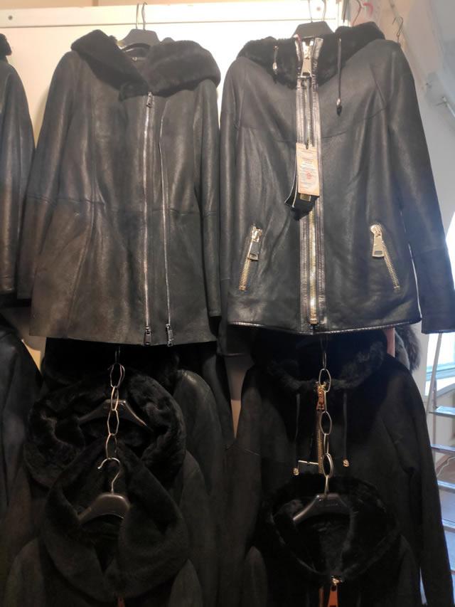 Кожаные мужские и женские осенние куртки
