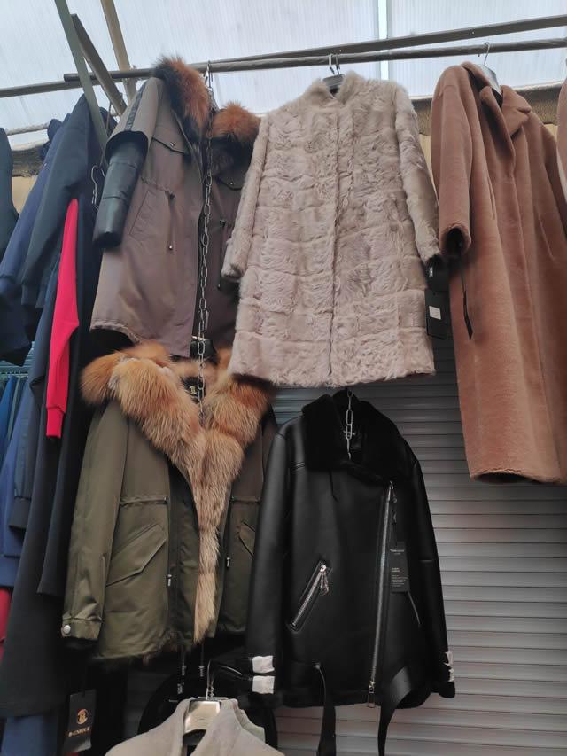 Верхняя зимняя одежды из натурального и искусственного меха