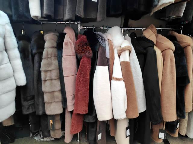 Меховые пальто, дубленки, шубы из натурального меха