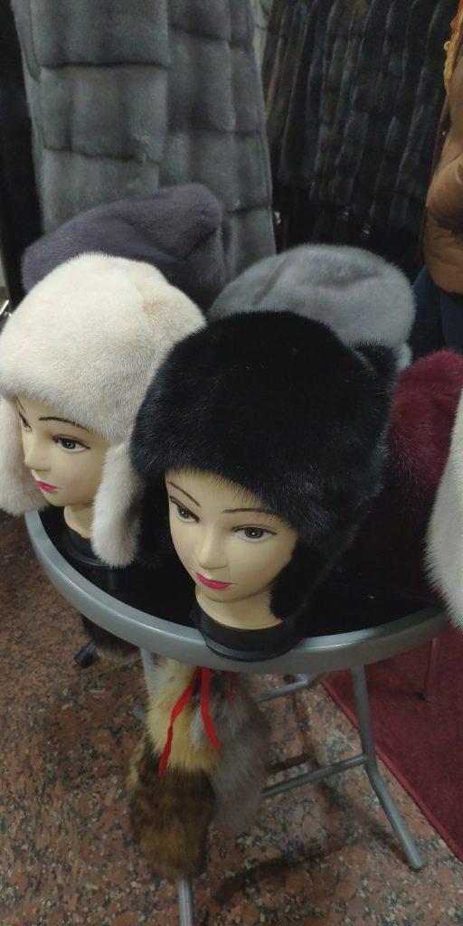 Норковая женская зимняя шапка от фабрики Добра Пани в Киеве