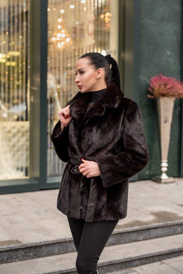 Норковая шуба блэклама в Киеве