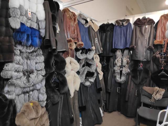 купить женскую дубленку в Киеве на меховой выставке-ярмарке на ВДНХ в павильоне №1
